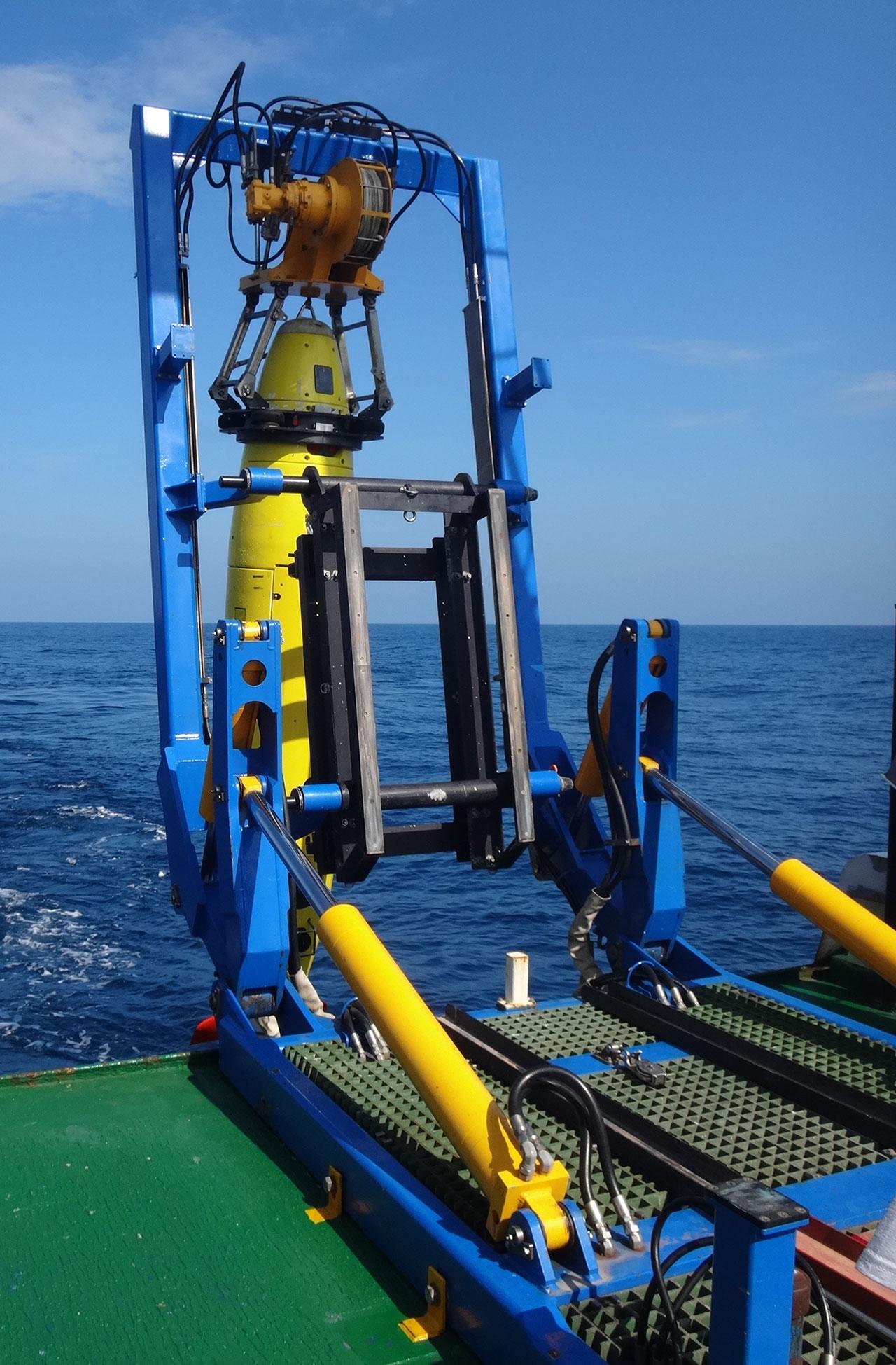 REMUS 6000, un vehículo submarino autónomo